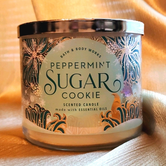 Peppermint Sugar Cookie BBW Candle